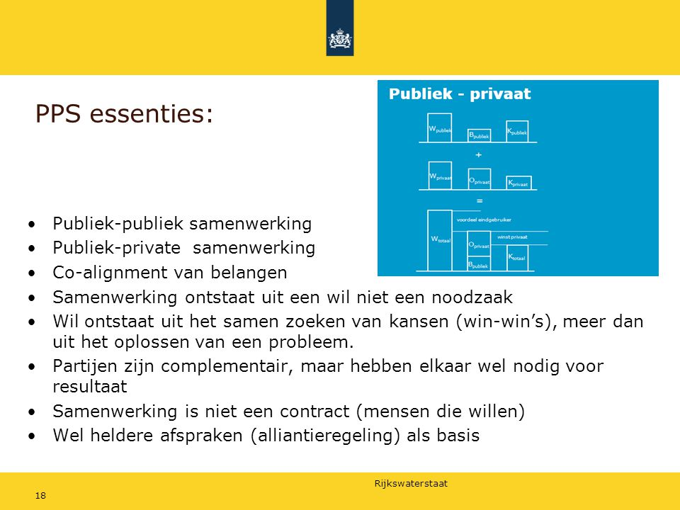 PPS essenties: Publiek-publiek samenwerking