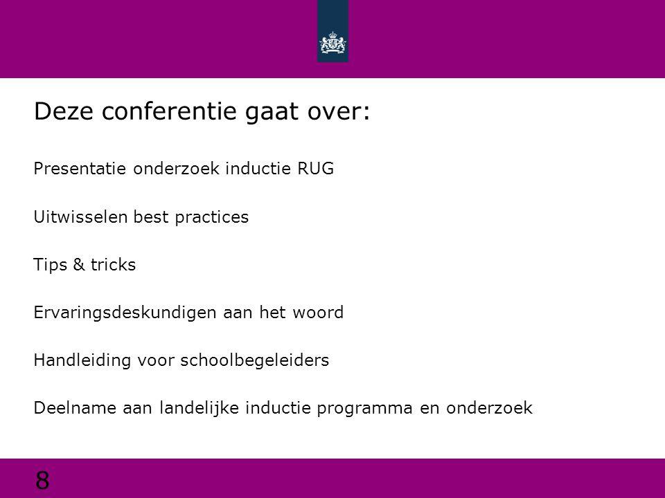 Deze conferentie gaat over: