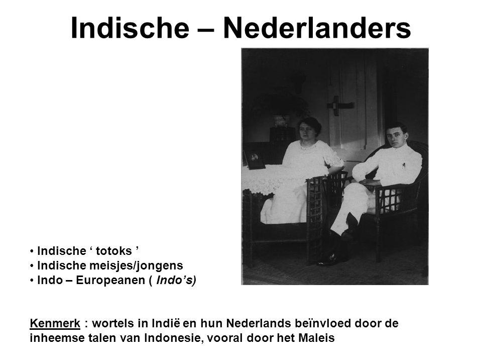 Indische – Nederlanders