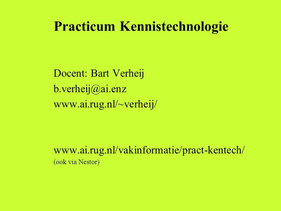 Practicum Kennistechnologie