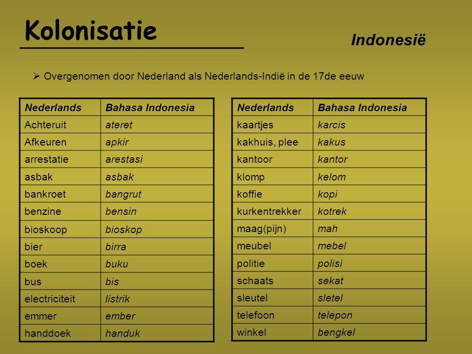 Kolonisatie Indonesië