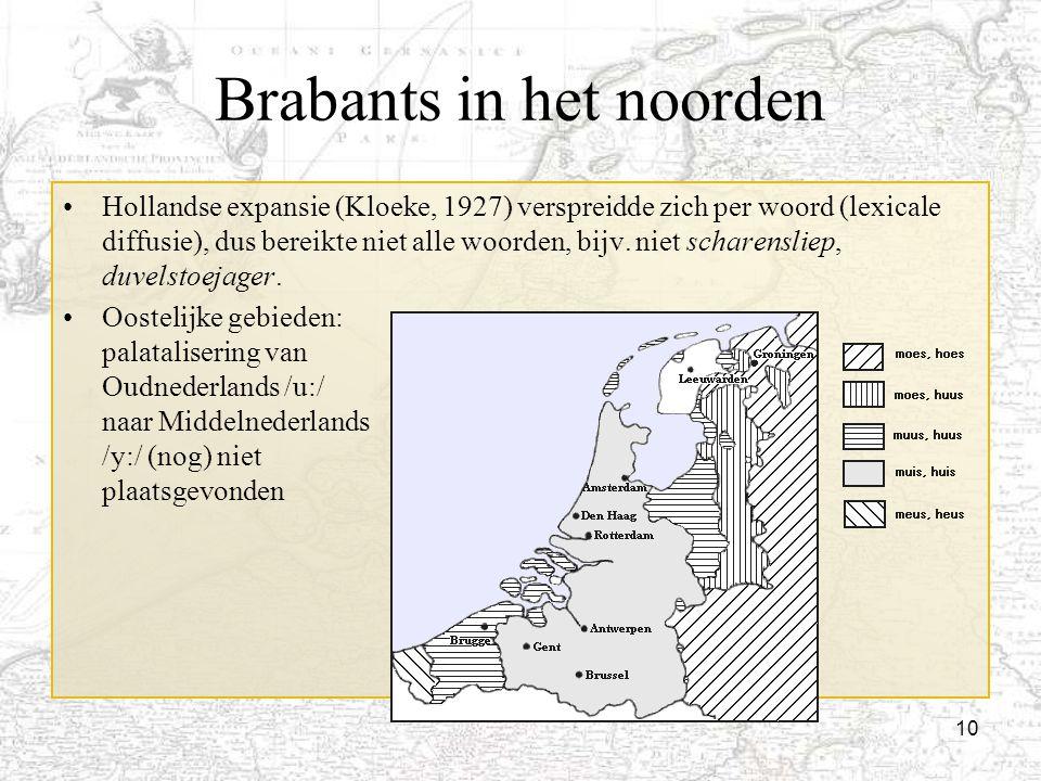 Brabants in het noorden