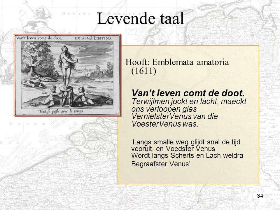 Levende taal Hooft: Emblemata amatoria (1611)