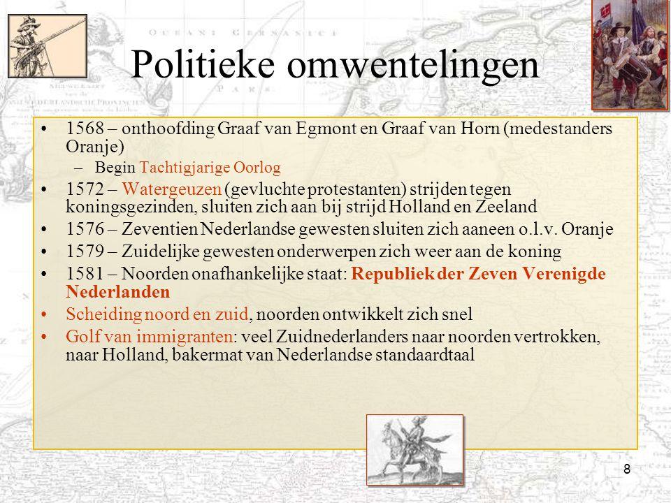 Politieke omwentelingen