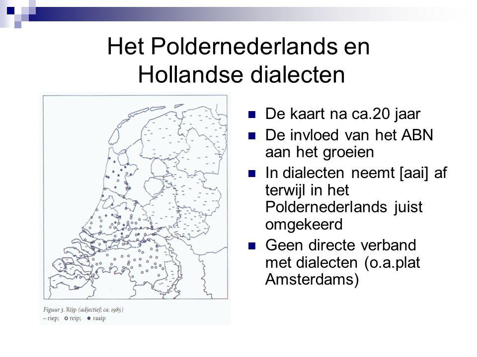 Het Poldernederlands en Hollandse dialecten