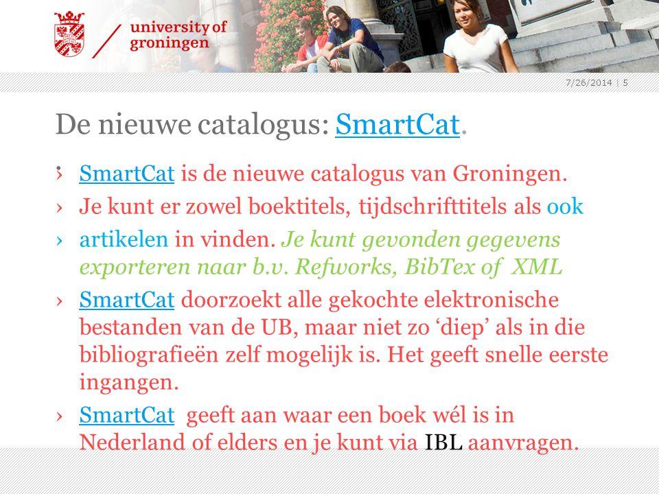 De nieuwe catalogus: SmartCat. .