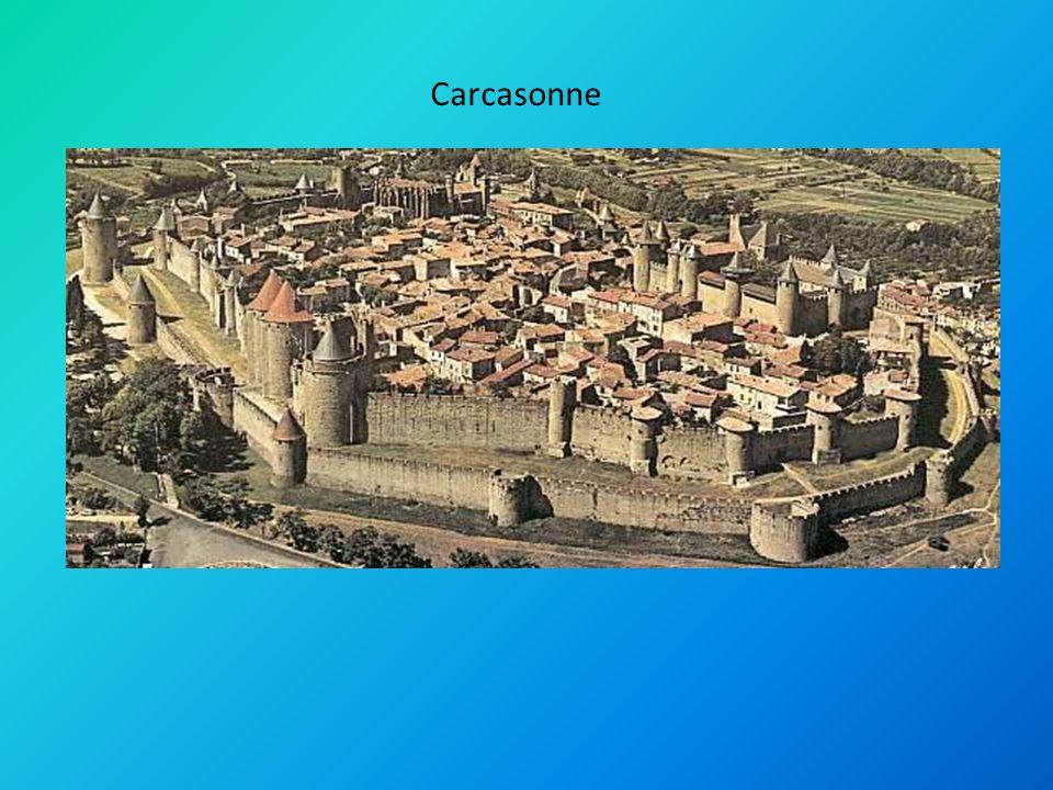Carcasonne Presentatie lesstof Carcasonne