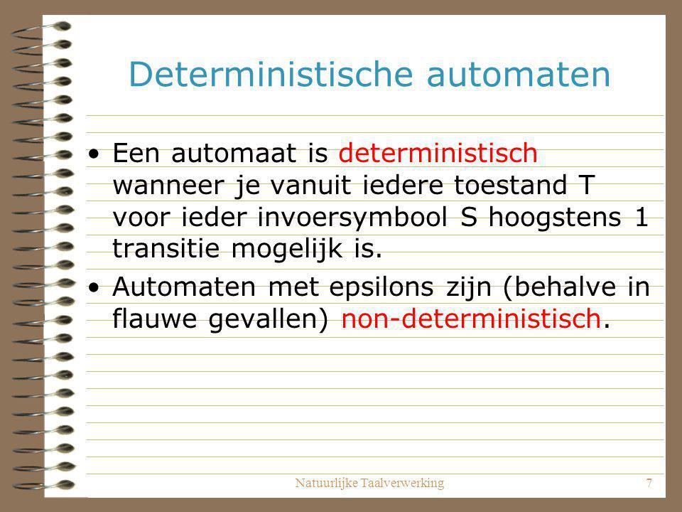 Deterministische automaten
