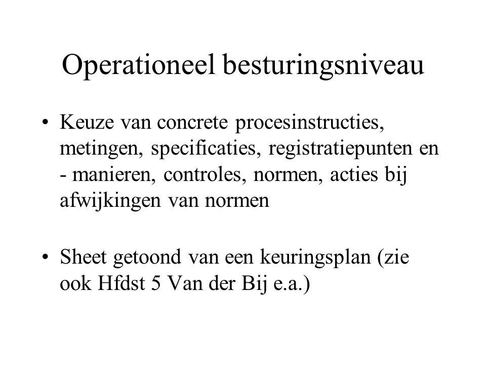 Operationeel besturingsniveau