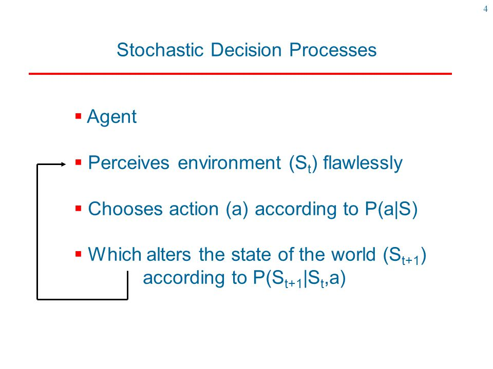 Stochastic Decision Processes