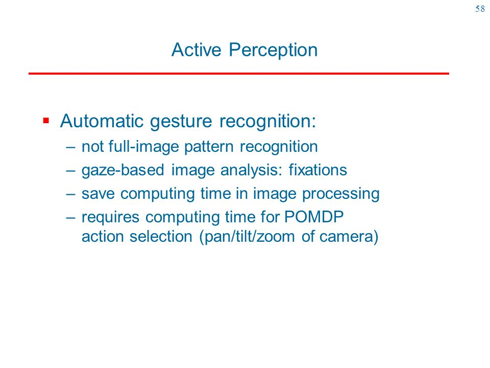 Automatic gesture recognition: