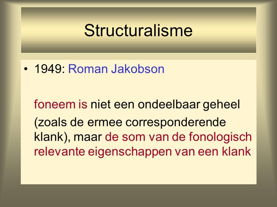 Structuralisme 1949: Roman Jakobson