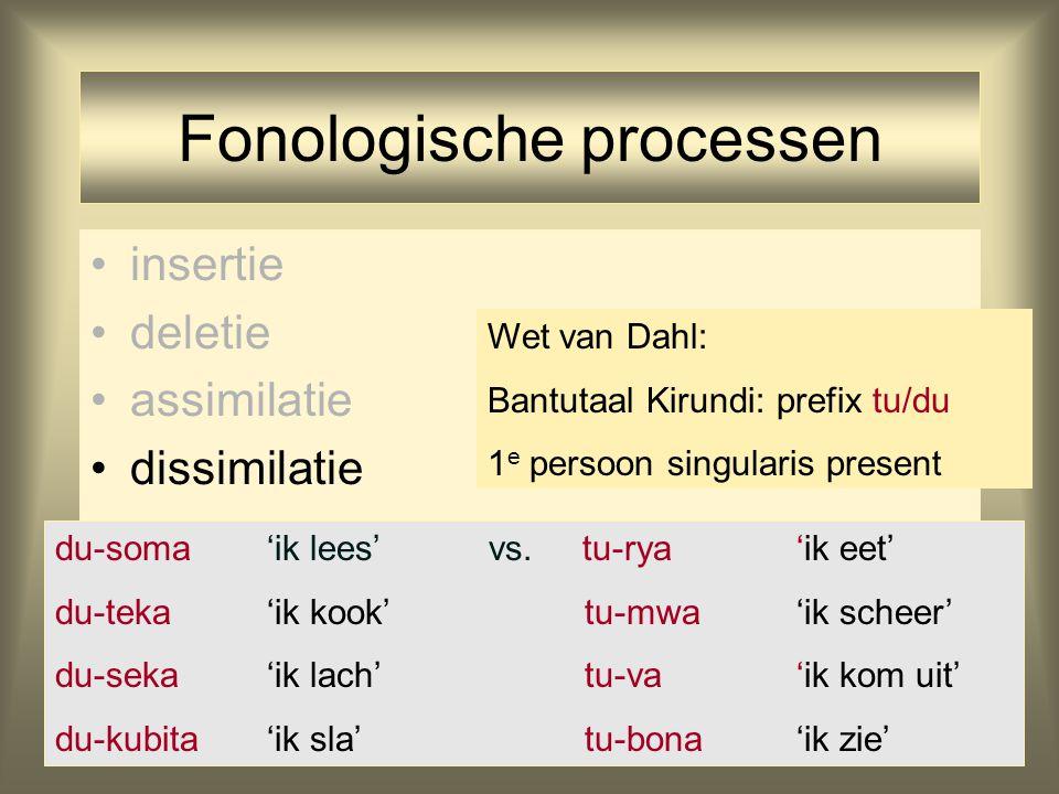 Fonologische processen