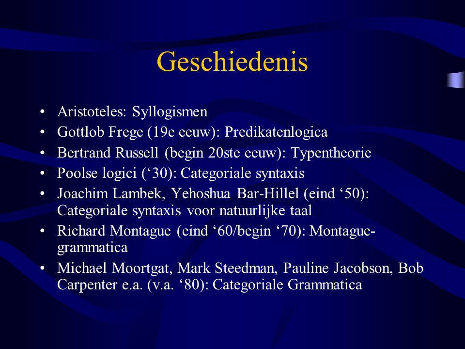 Geschiedenis Aristoteles: Syllogismen