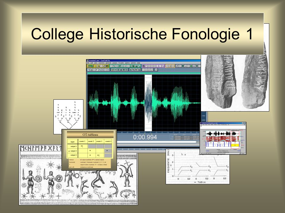 College Historische Fonologie 1
