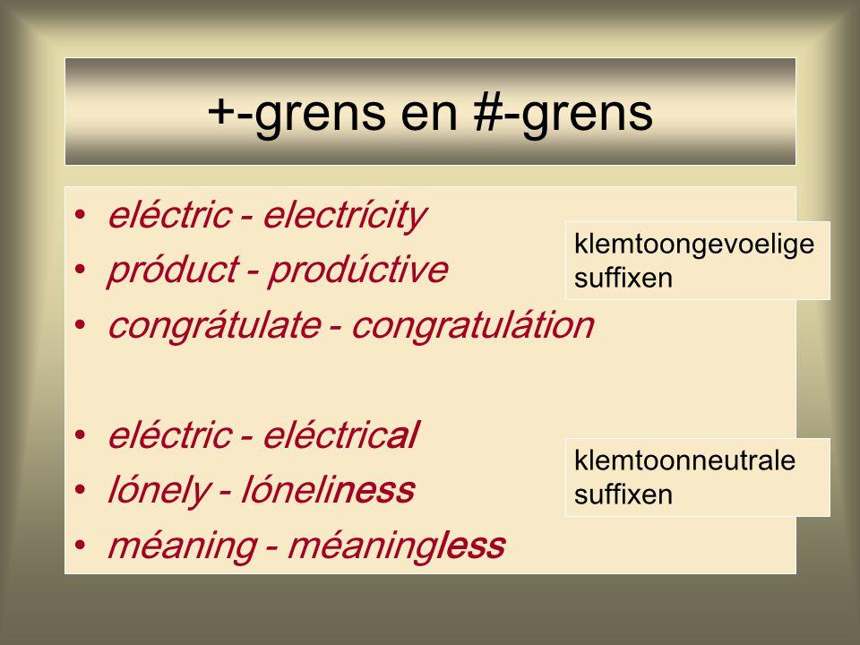 +-grens en #-grens eléctric - electrícity próduct - prodúctive