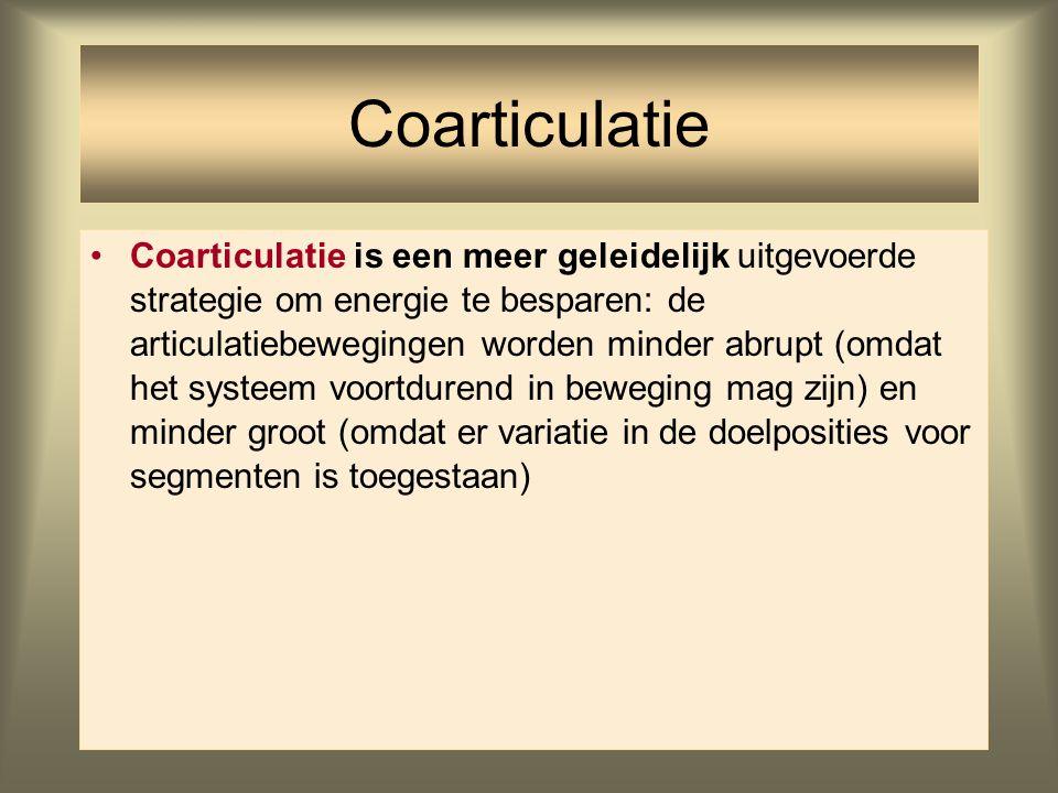 Coarticulatie