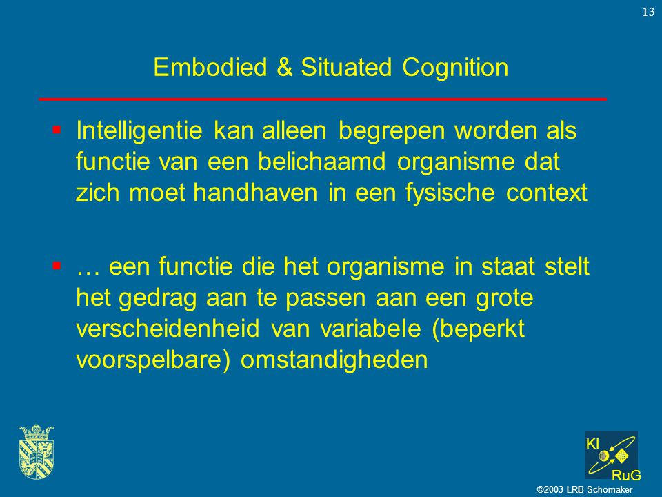 Embodied & Situated Cognition