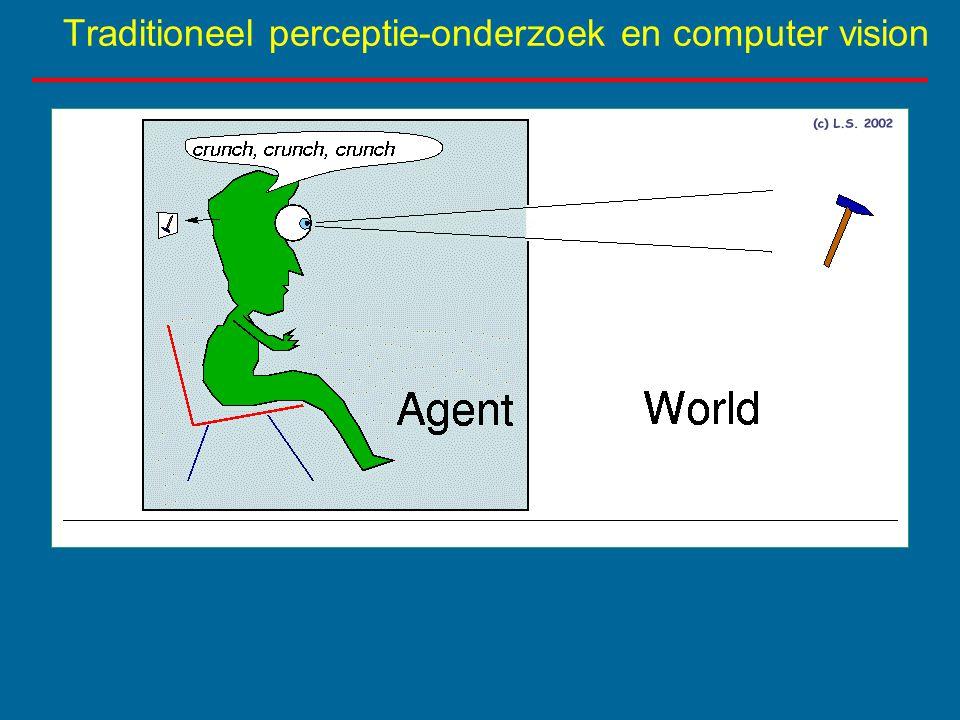 Traditioneel perceptie-onderzoek en computer vision