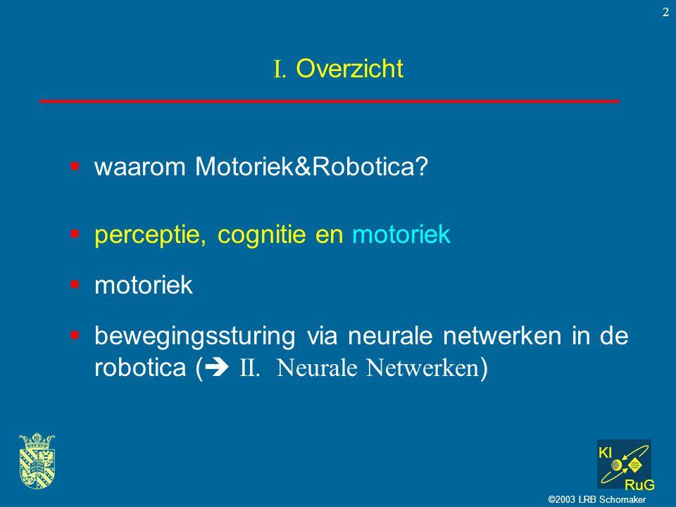 waarom Motoriek&Robotica