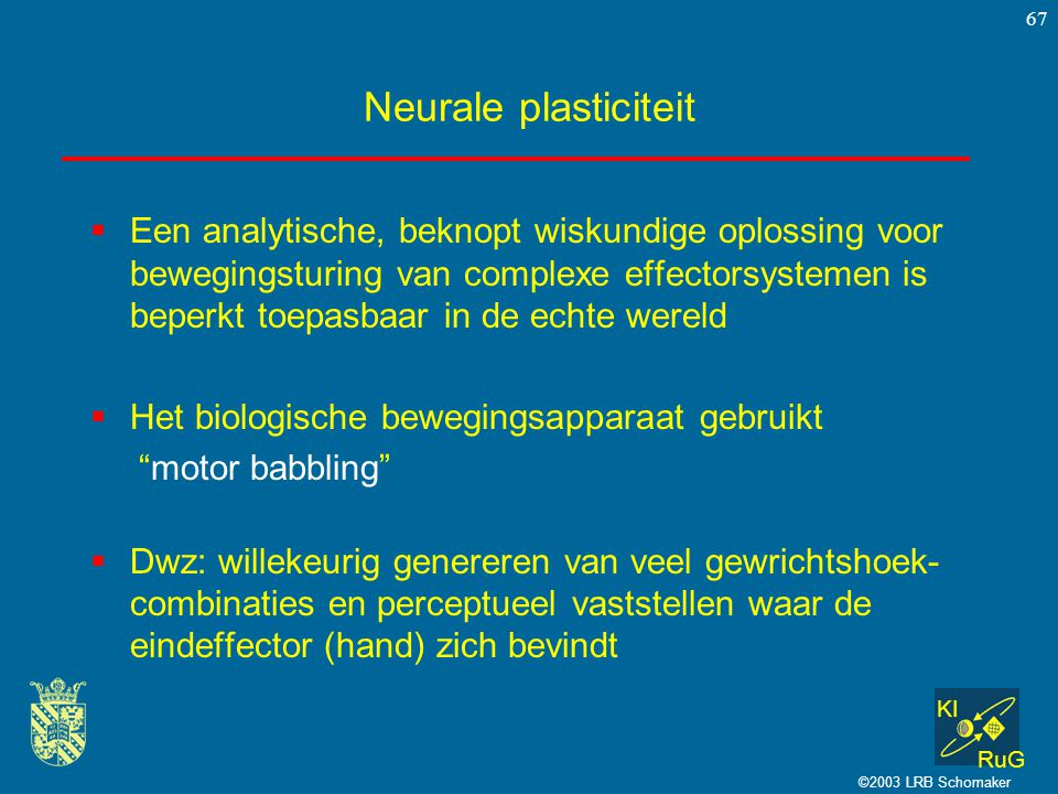 Neurale plasticiteit