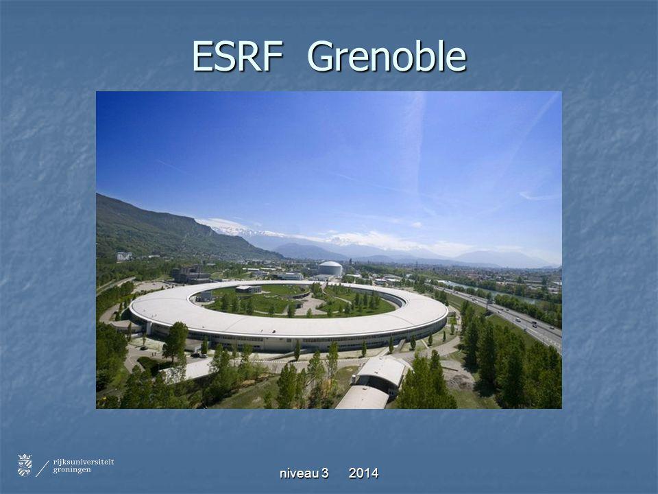 ESRF Grenoble niveau 3 2014