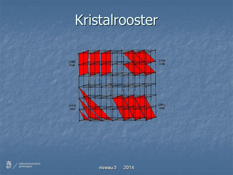 Kristalrooster niveau 3 2014
