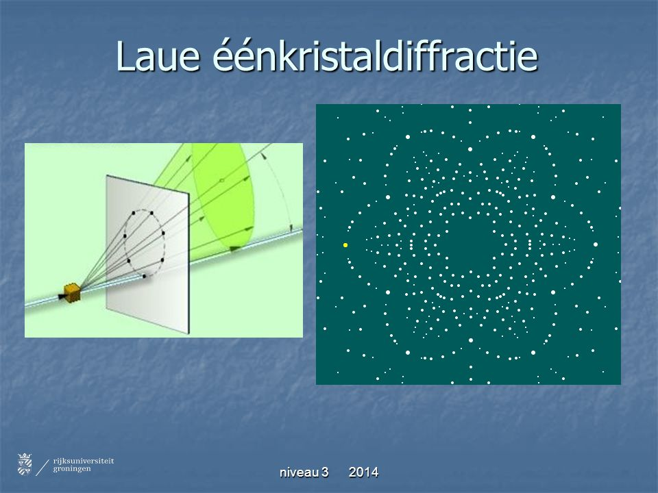 Laue éénkristaldiffractie