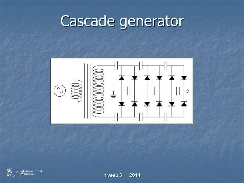 Cascade generator niveau 3 2014