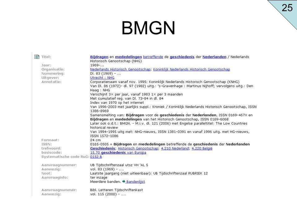 25 BMGN