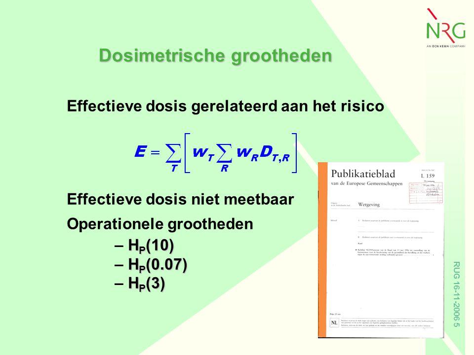 Dosimetrische grootheden