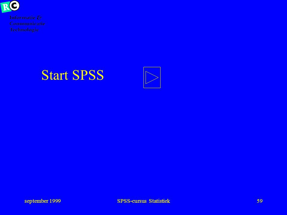 SPSS-cursus Statistiek