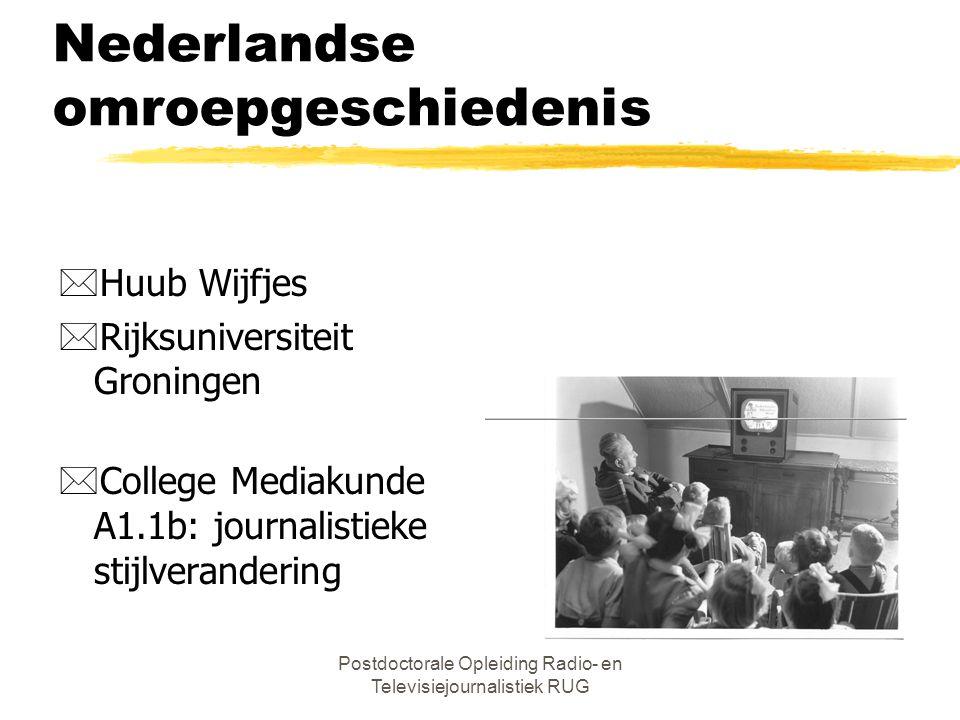 Nederlandse omroepgeschiedenis