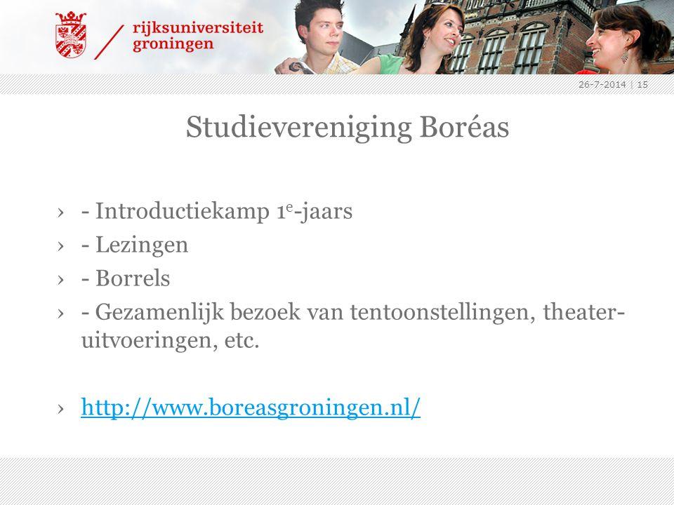 Studievereniging Boréas