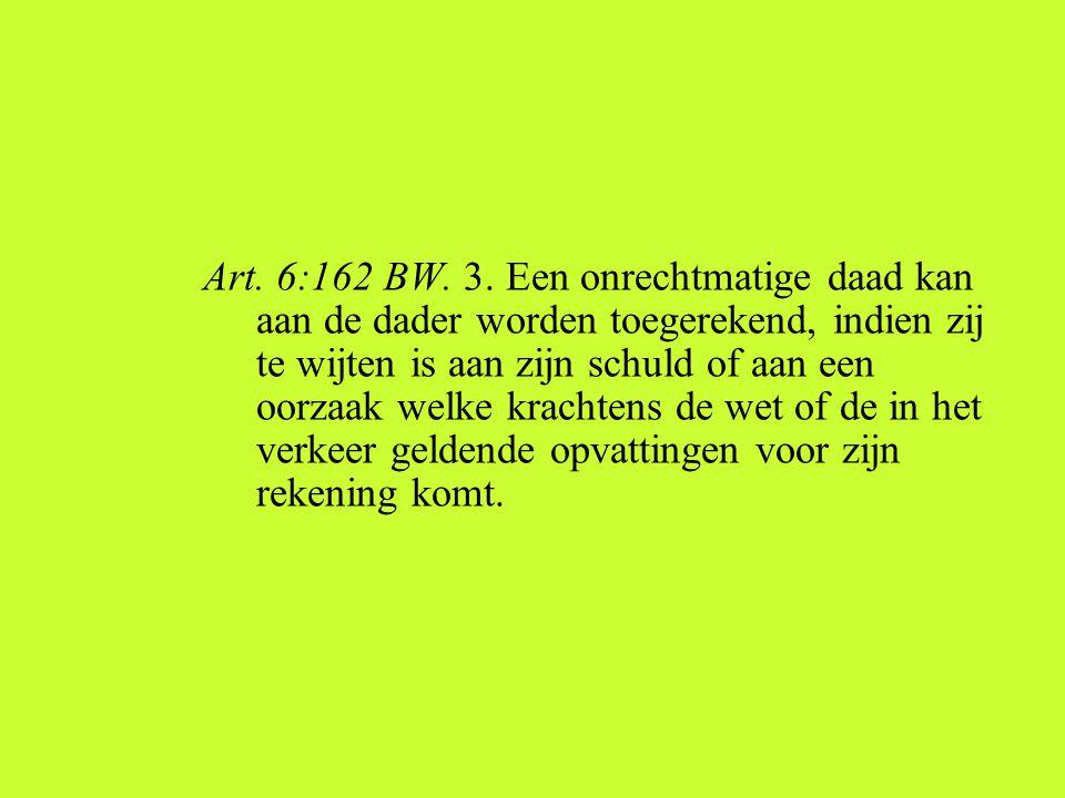 Art. 6:162 BW. 3.