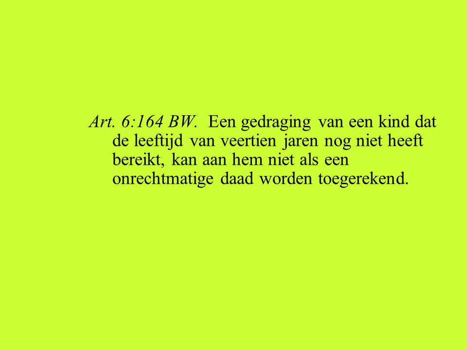 Art. 6:164 BW.