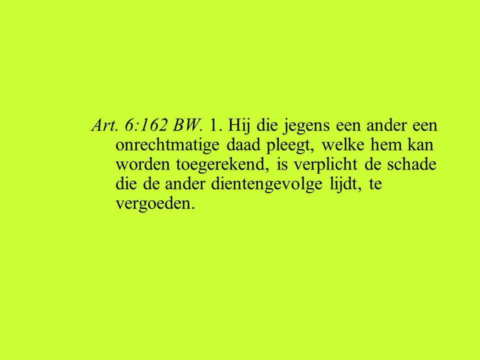 Art. 6:162 BW. 1.