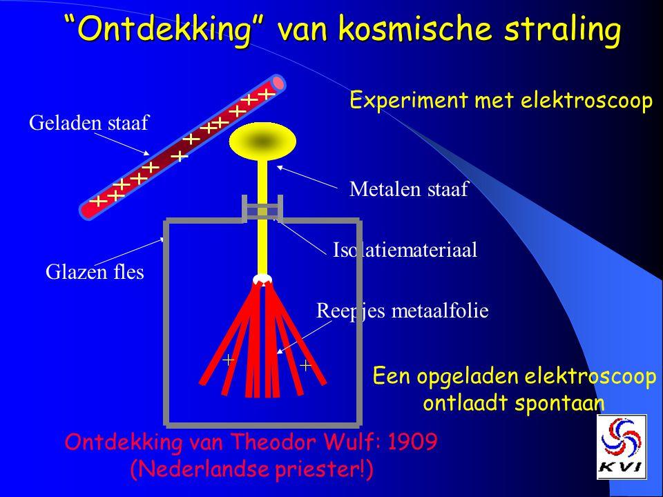 Ontdekking van kosmische straling