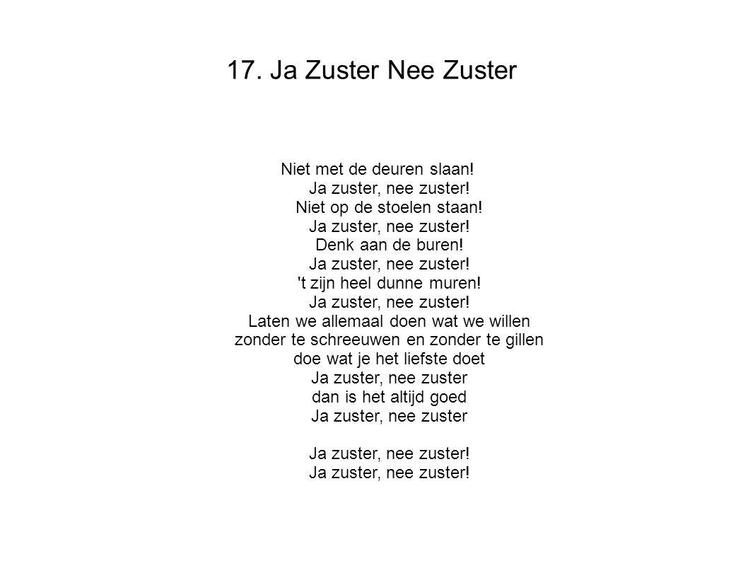 17. Ja Zuster Nee Zuster