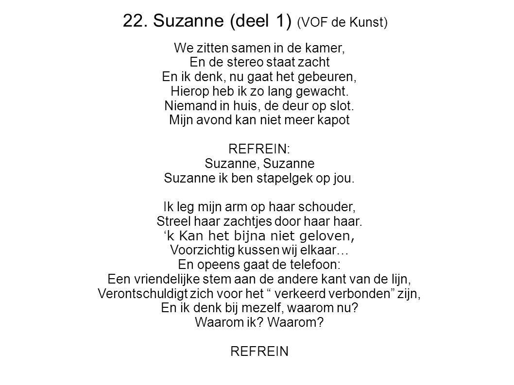22. Suzanne (deel 1) (VOF de Kunst)