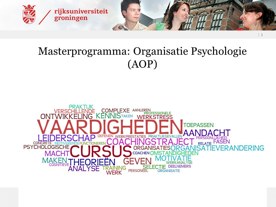 Masterprogramma: Organisatie Psychologie (AOP)