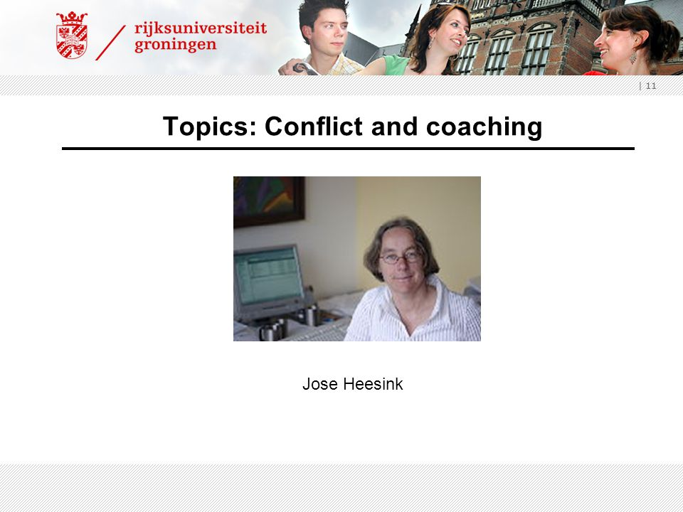 Topics: Conflict and coaching