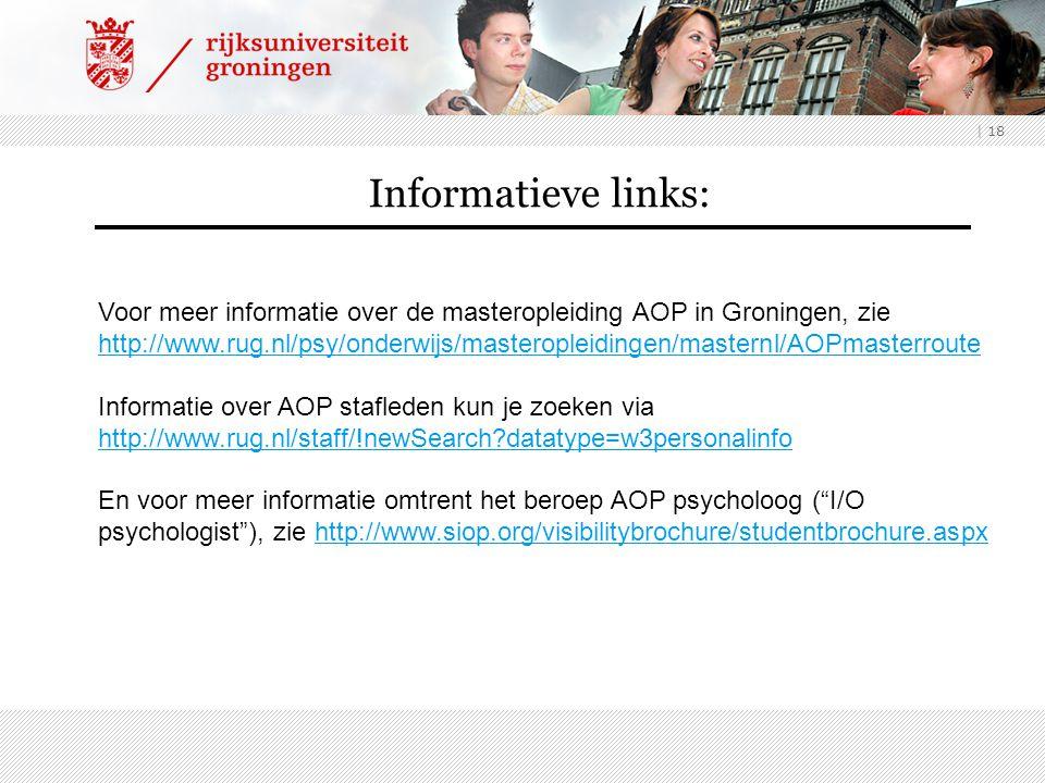 Informatieve links: