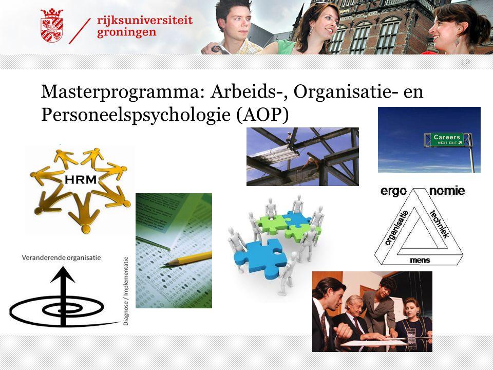 Masterprogramma: Arbeids-, Organisatie- en Personeelspsychologie (AOP)