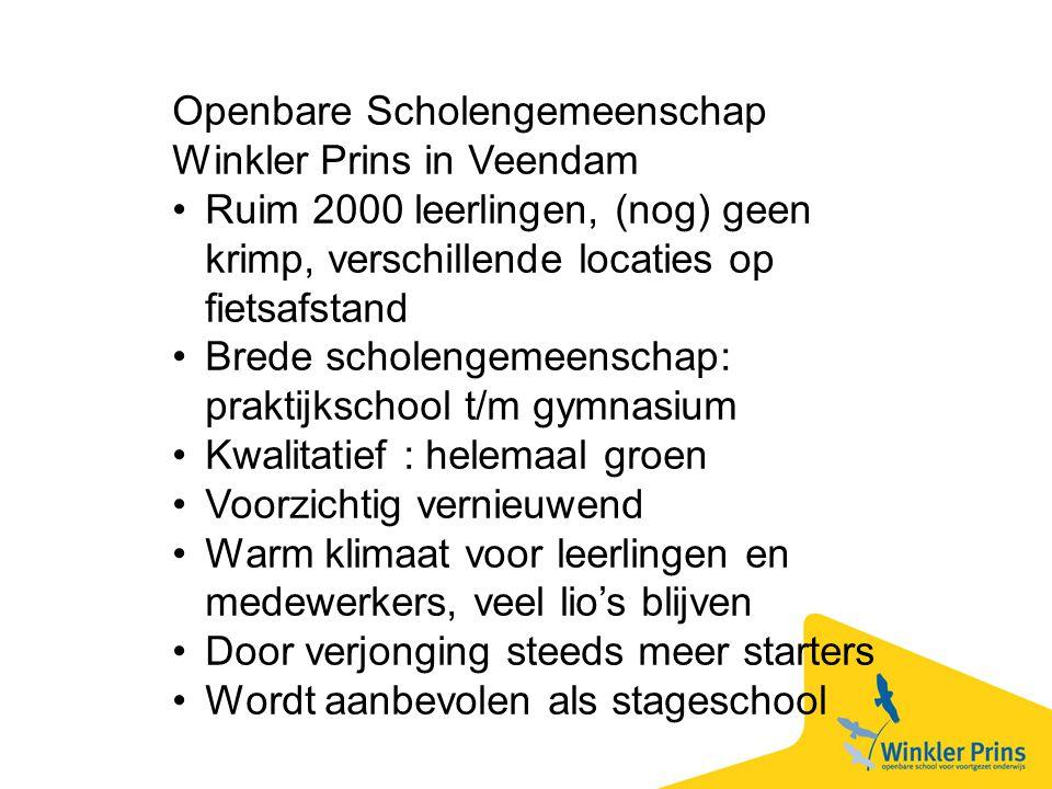 Openbare Scholengemeenschap Winkler Prins in Veendam