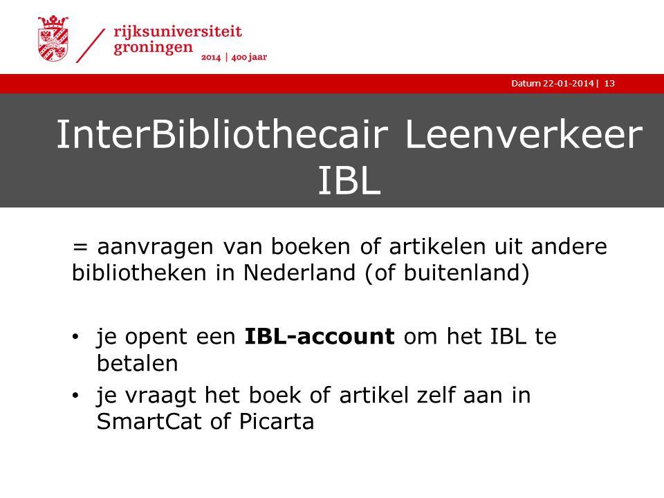 InterBibliothecair Leenverkeer IBL