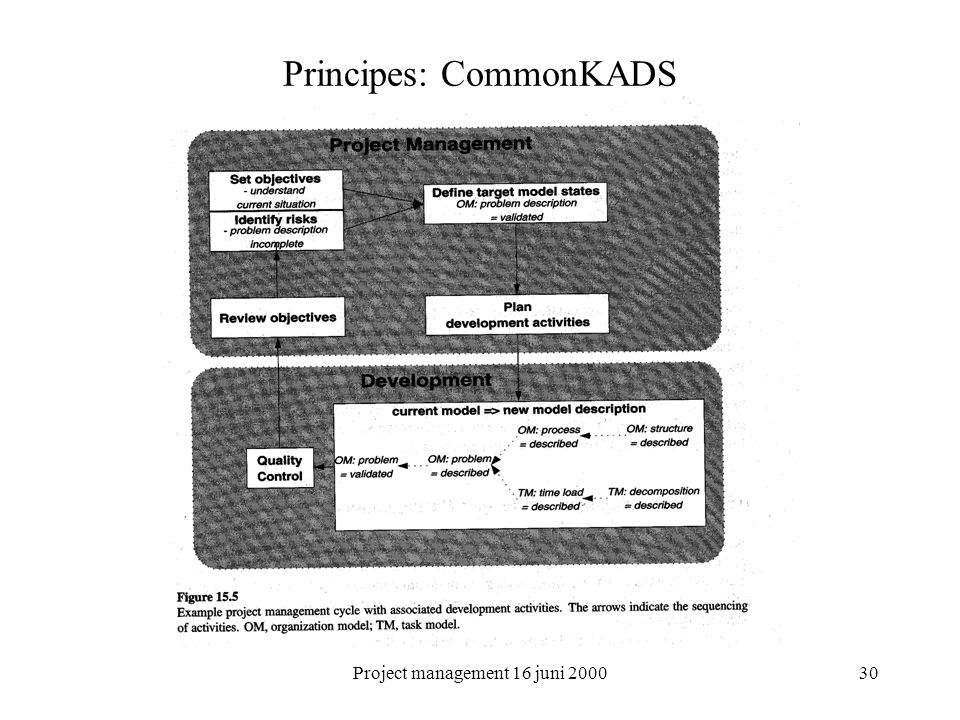 Principes: CommonKADS