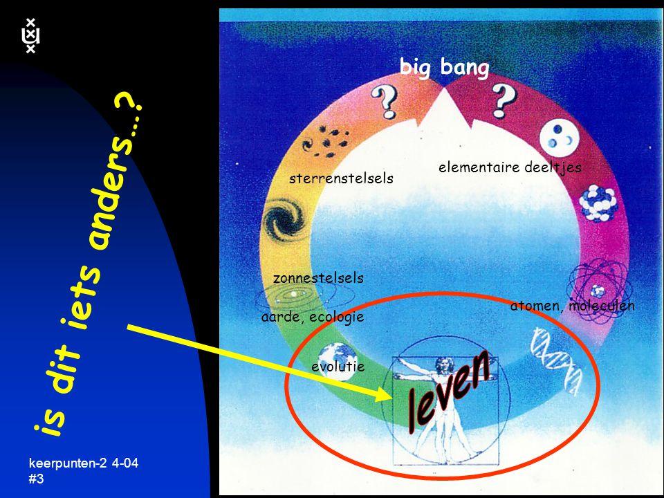 is dit iets anders… leven big bang elementaire deeltjes