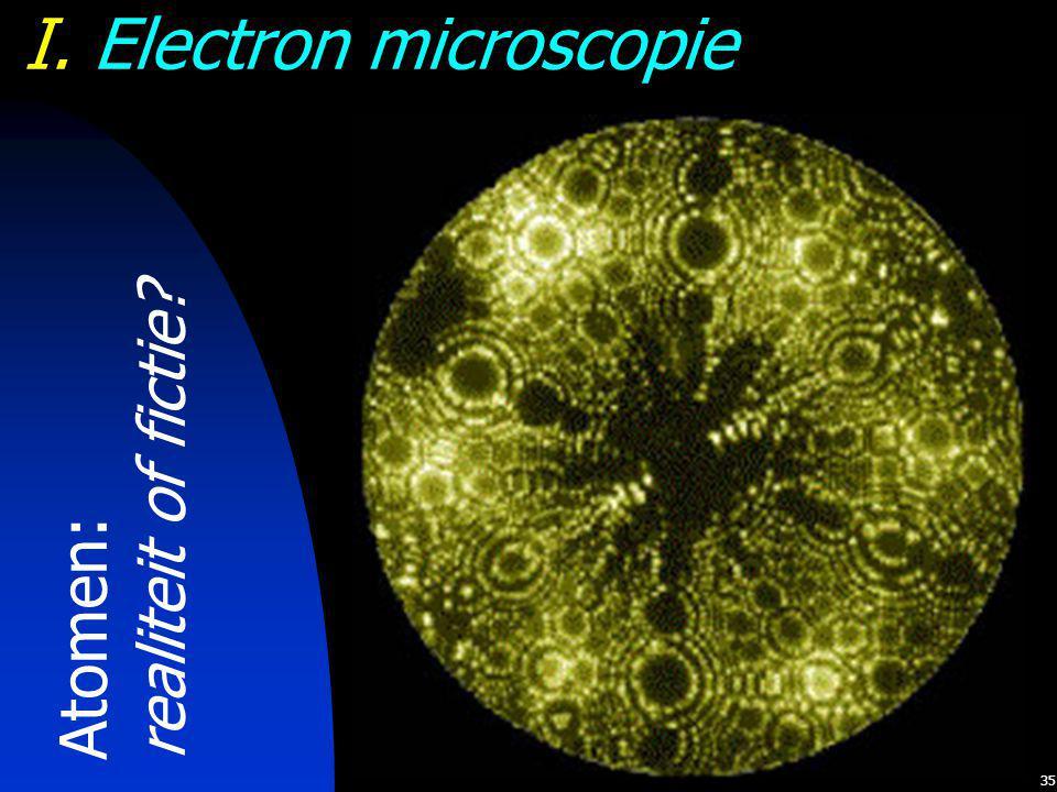 I. Electron microscopie
