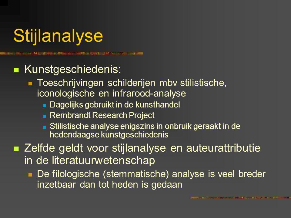 Stijlanalyse Kunstgeschiedenis: